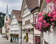 Schwellbrunn setzte sich gegen elf Mitbewerber durch und wurde mittels Publikumswahl zum schönsten Dorf der Schweiz 2017 erkoren. (Bild: Jil Lohse)