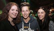 Für sie ist der Donnerstag nur das Vorspiel: Nicole Grob, Corina Meili und Martina Meili. (Bilder: Chris Marty/tgplus.ch)