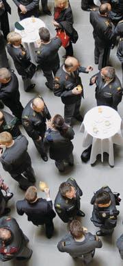Die Kasse der Schweizer Offiziersgesellschaft ist leer. (Bild: Urs Flüeler/KEY (Luzern, 17. März 2012))