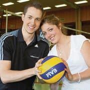 Marc Walzer und Elena Steinemann sind Youngster of the Year und nun auch privat ein Paar. (Bild: Mario Gaccioli)