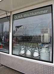 Franz Breitenmoser, Untereggen Halle 7.1, Stand 7.1.06 (Bild: Rudolf Hirtl oceandesign@bluewin)