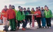Der STV Sennwald verbrachte sein Skiweekend in Grüsch-Danusa. (Bild: pd)