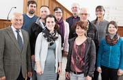 Die zehnköpfige Kommission sucht nach einem neuen Pfarrer. (Bild: Christof Lampart)