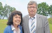 Kämpfen weiter: Initiativkomitee-Gründer Marlies Näf-Hofmann und Luzi Schmid. (Bild: Markus Schoch)