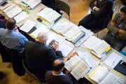 Die Thurgauer Kantonsräte beugten sich am Mittwoch unter anderem über das Budget. (Bild: Andrea Stalder)