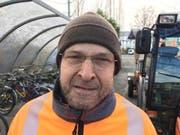 Paul von Reding, Mitarbeiter Werkhof Rorschach.