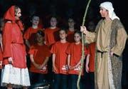 Der Prophet Elia (rechts) ist der Held des Musicals. (Bild: PD)