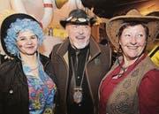 Iris Hahnbammer, Röby Hunziker und Marianne Kübler. (Bilder: tgplus.ch/Chris Marty)