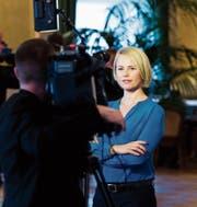 Natalie Rickli setzt sich für die Abschaffung der Empfangsgebühr ein. (Bild: Peter Klaunzer/KEY (Bern, 14. September 2017))