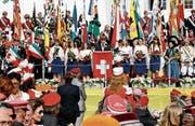 Das letzte Zentralfest in Wil feierte der Schweizerische Studentenverein im Jahr 2010. (Bild: PD)