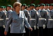 Die alte Kanzlerin wird die neue sein: Angela Merkel. (Bild: FELIPE TRUEBA (EPA))