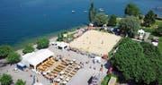 Der Horner Festplatz am See bietet das ideale Ambiente für einen sommerlichen Sportevent. (Bild: PD)