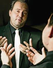 Als Götti hat sich Florian Rexer schon mehrfach in Szene gesetzt. (Bild: Mareycke Frehner)