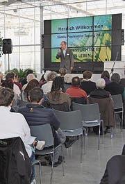 Die Säntis-Psychiatrie-Tagung findet in der Eventhalle statt. (Bild: PD)