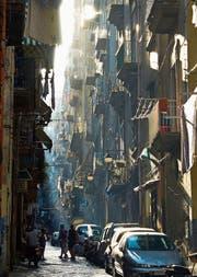 In Neapel spielt der Hauptteil des Roman-Vierteilers von Elena Ferrante. (Bild: Getty (Neapel, 8. August 2017))