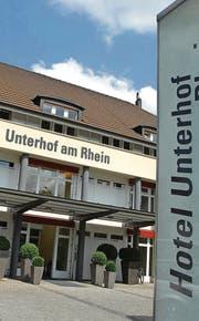 Eingang zum einstigen Seminarhotel Unterhof in Diessenhofen. Der neue Besitzer will hier Wohnungen einbauen lassen. (Archivbild: Nana do Carmo)