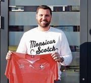 Der ehemalige Spieler des FC Rorschach, Jimmy Fernandez, hat sein Hobby zum Beruf gemacht. (Bild: Arcangelo Balsamo)