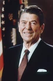 Ronald Reagan war von 1981 bis 1989 der 40. Präsident der USA. (Bild: STR (EPA, WHITE HOUSE))