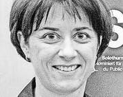 Monika Knill Designierte Thurgauer Regierungsratspräsidentin (Bild: Reto Martin)