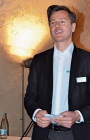 Der neue Arbeitgeberpräsident Markus Fust im Gewölbekeller des «Hof zu Wil». (Bild: Philipp Haag)