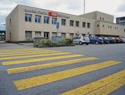 «Negative Auswirkungen»: Ostschweizer Ständeräte wehren sich gegen die Schliessung von Zollstellen wie jene am Bahnhof Buchs. (Bild: Heini Schwendener)
