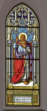 Kirchen bieten oft interessante Details, wie hier ein Fenster in der Kirche Salez. (Bild: Kunstdenkmälerinventarisation)