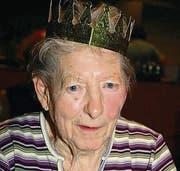 Königin für immer: Paula Sporrädli.