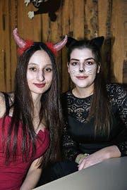 Alessia Faliti und Sina Buttliger aus Bichelsee.