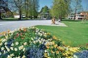 Gepflegt, idyllisch tagsüber: Der Jakob-Züllig-Park. Der Stadtrat erliess eine Arealordnung. (Bild: Max Eichenberger)