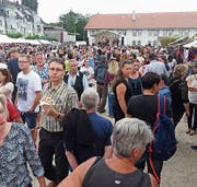 Am Nationenfest ist jeweils ganz Romanshorn auf den Beinen. (Bild: PD)