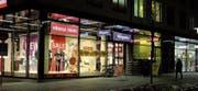 Am 28. September wird Charles Vögele die Filiale in Buchs schliessen, einen Monat später wird hier die italienische Modekette OVS neu eröffnen. (Bild: Heini Schwendener)