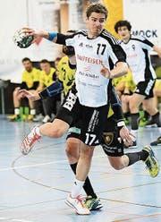 Gabriel Würth im Derby gegen St. Otmar. (Bild: Ralph Ribi)
