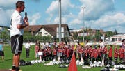 Das 12. Axpo-Fussballcamp in Aadorf steht wiederum unter der Leitung von Bernd Voss. (Bild: Kurt Lichtensteiger)
