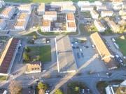 Das 21000 Quadratmeter umfassende Areal des ehemaligen Zeughauses Wil betrachtet die SP als möglichen und idealen Standort. Gebäude und Boden sind im Besitz der Stadt. (Bild: Simon Dudle)