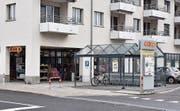 Der Coop-Supermarkt an der Bahnhofstrasse.