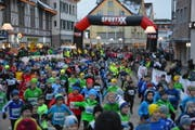 3808 Läuferinnen und Läufer haben am Gossauer Weihnachtslauf teilgenommen - so viele wie noch nie. (pd)