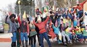 Die Jubla Homburg-Gündelhart stellt die grösste Zwergenmannschaft. (Bild: Salome Preiswerk Guhl)