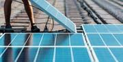 Batteriespeicher für Fotovoltaikanlagen werden neu im kantonalen Förderprogramm bedacht. (Bild: Christian Beutler)