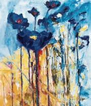 Ein Fest der Farben: Heinrich Gerig stellt in der Art Galerie aus. (Bild: PD)
