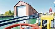 Die SBS hat 2014 neun Millionen Franken in die Modernisierung der Werft investiert. (Bild: Donato Caspari)