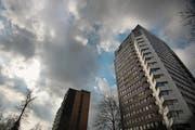 Kreditüberschreitungen erwartet: Das Kantonsspital St. Gallen. (Bild: Benjamin Manser)