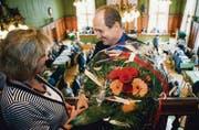Strahlender Sieger: Der Leitende Staatsanwalt Hans-Ruedi Graf ist klar zum höchsten Strafverfolger im Thurgau gewählt worden. (Bild: Urs Jaudas)