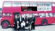 Bei «Autokreuzlingen» bieten die acht Kreuzlinger Markenvertreter einen Gratis-Fahrservice mit einem London-Doppeldeckerbus an, der in einem Rundkurs von Garage zu Garage fährt. (Bild: PD)