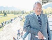 Trotz erfolgreichem Renn-Sonntag schaut OK-Präsident Ruedi Niederer mit gemischten Gefühlen in die Zukunft. (Bild: Yanik Bürki/Südostschweiz)