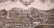 Diese Ansicht von 1893 zeigt die Toggenburger Zwangsarbeitsanstalt. (Bilder: pd)