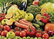 Früchte und Gemüse werden am Lichtensteiger Markt angeboten. (Bild: pd)