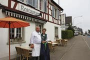 Erwin und Monika Schönauer haben das Ziel, langfristig in Steinach zu «erblühen». (Bild: Franca Hess)