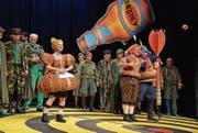 Seit dem 6. Januar wird auf der Bühne der Tonhalle Wil «Die Regimentstochter» aufgeführt. (Bild: PD)