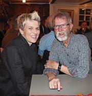 Freude über den «Meilenstein» für das Roothuus: Geschäftsführerin Barbara Betschart und Präsident Erwin Sager. (Bild: ef)