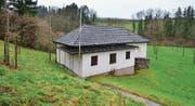 Die Schiessanlage in Obersteinach ist in die Jahre gekommen. Denkbar ist, dass nur noch dieses Jahr hier geschossen wird. (Bild: Max Eichenberger)